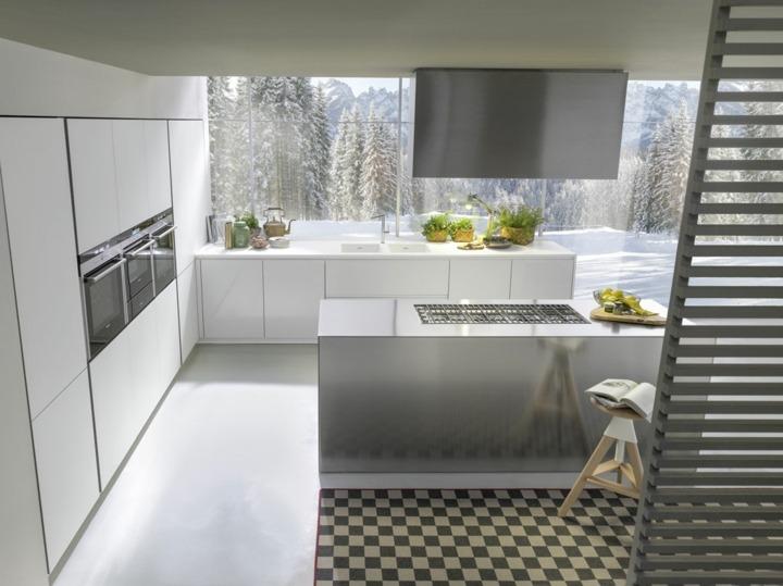 imagenes cocinas modernas muebles casas listones