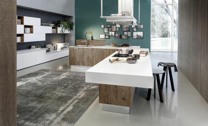 imagenes cocinas modernas variantes muebles negro
