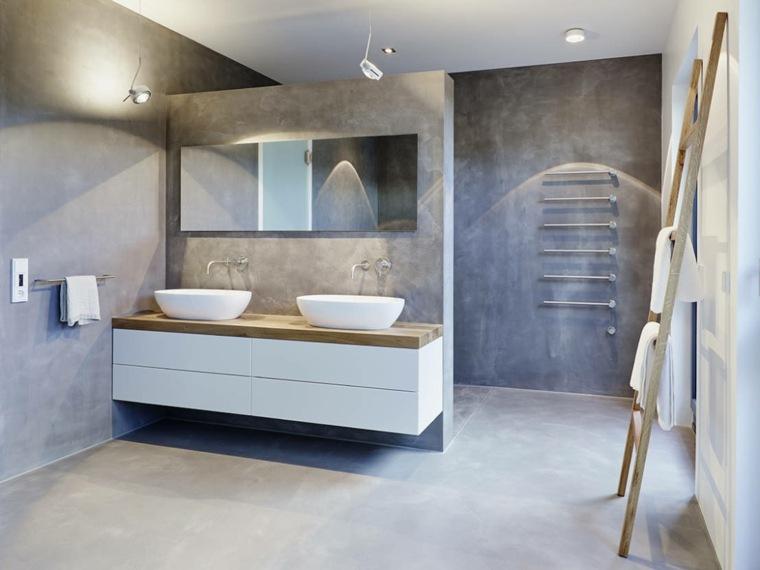 Lavabos para ba o modernos for Banos con dos lavabos