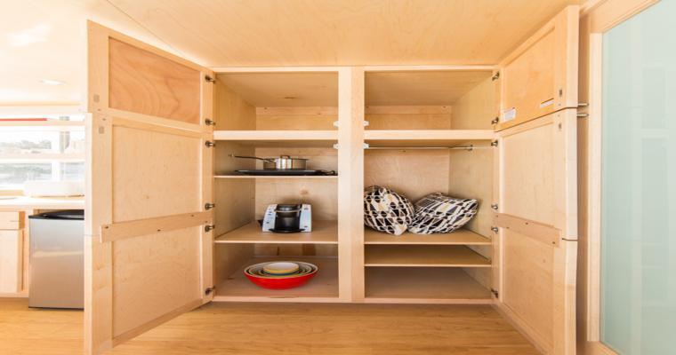 muebles cocina interior despensa
