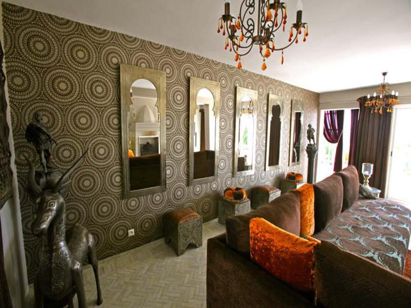interior diseño moderno árabe andaluz
