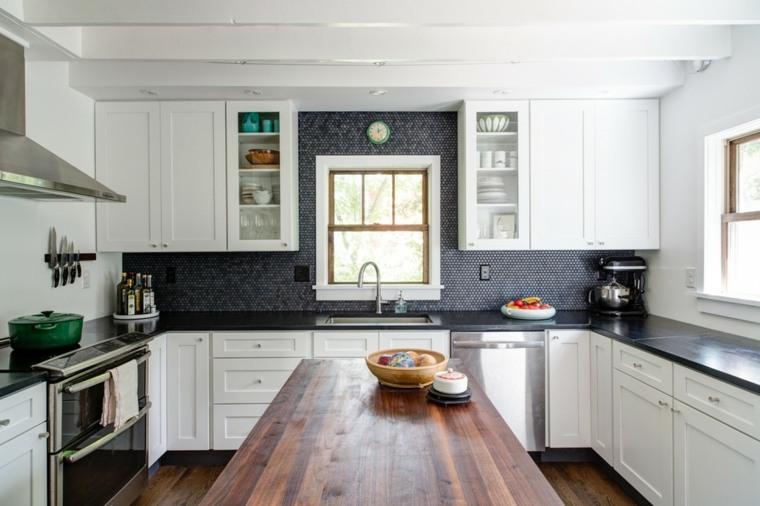 isla cocina encimera diseño moderno