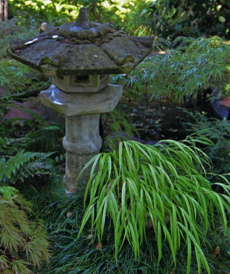 jardin japones opciones hierba montana figura ideas
