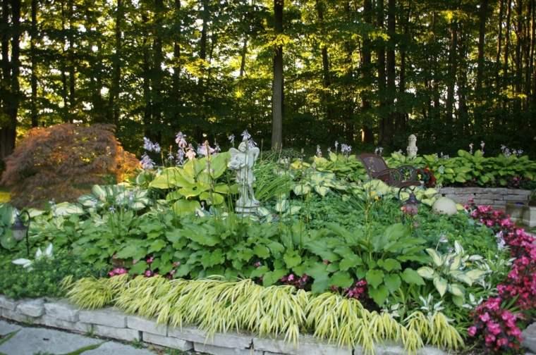 jardin japones opciones hierba montana vegetacion ideas