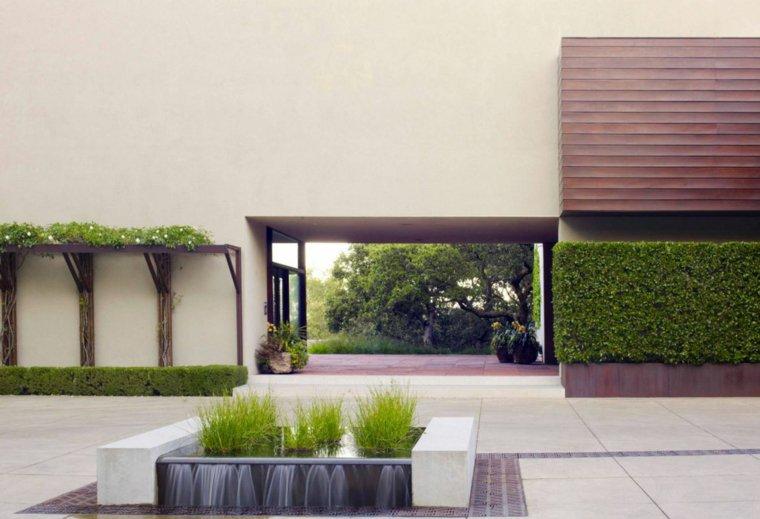 jardin opciones decoracion minimalista moderno zen ideas