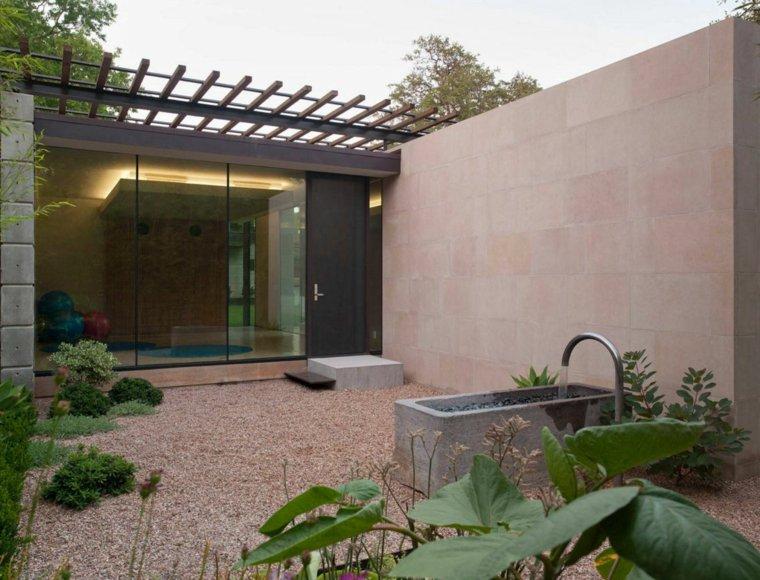 jardin opciones decoracion minimalista ideas