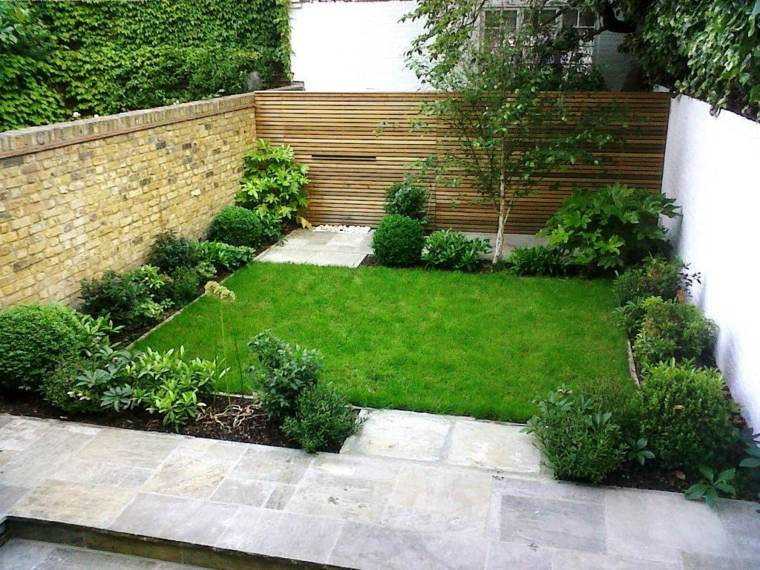 jardin pequeno diseno minimalista ideas