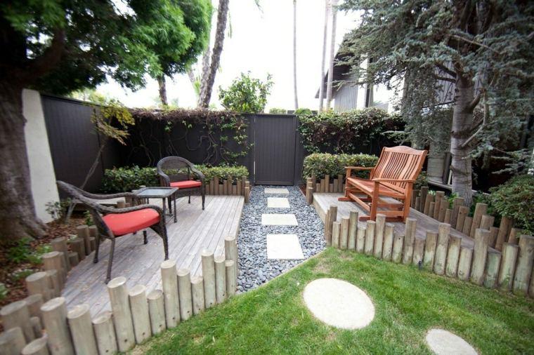 jardin pequeno diseno tradicional ideas