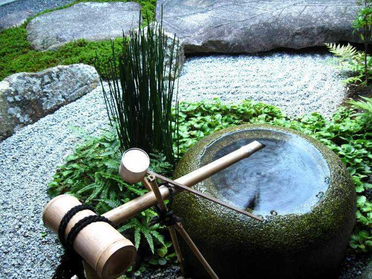 espace vert zen