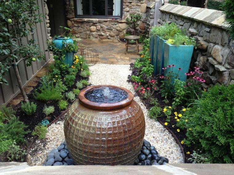 jardin opciones decoracion diseno espacio pequeno ideas