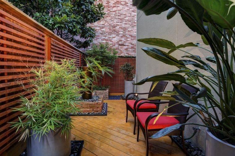 jardin zen opciones decoracion diseno estrecho ideas