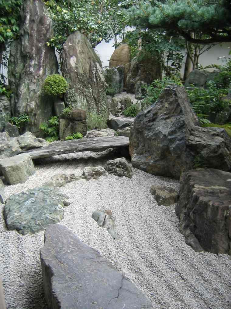 jardin zen opciones decoracion diseno piedras grandes ideas