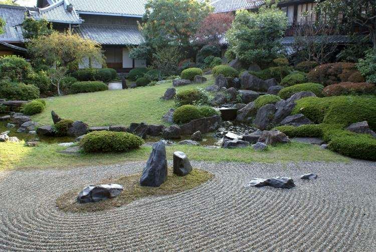 jardin Zen piedras rocas deco