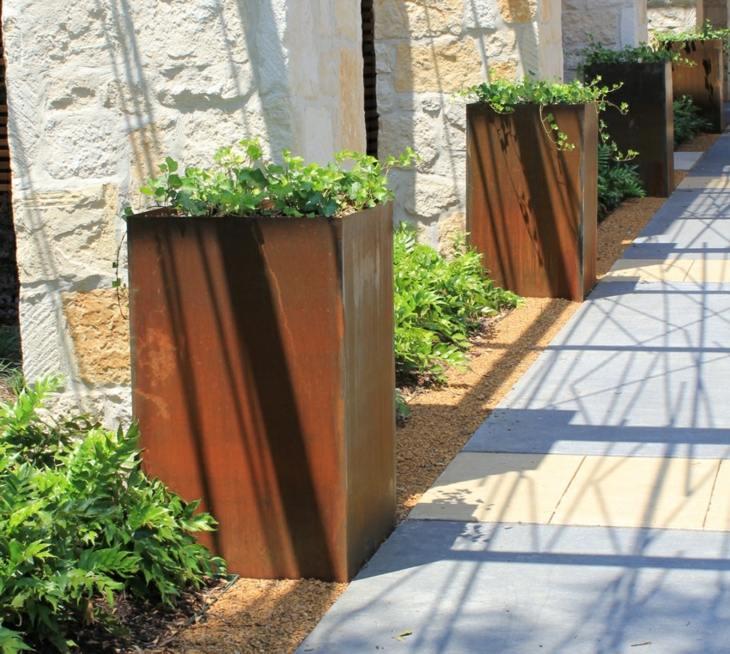 jardinera decorativas usos momentos muros