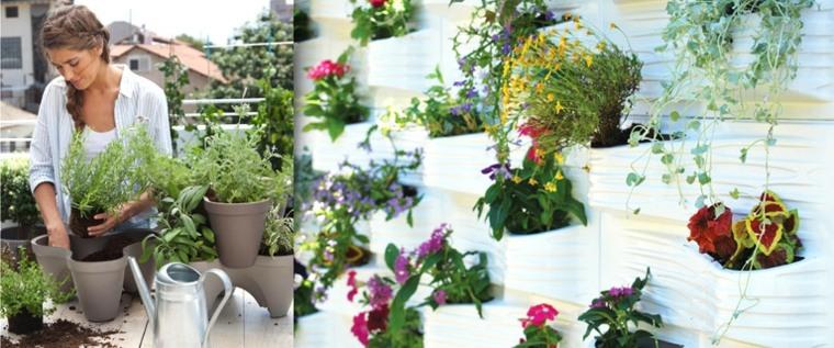 jardineras pared diseños practicos