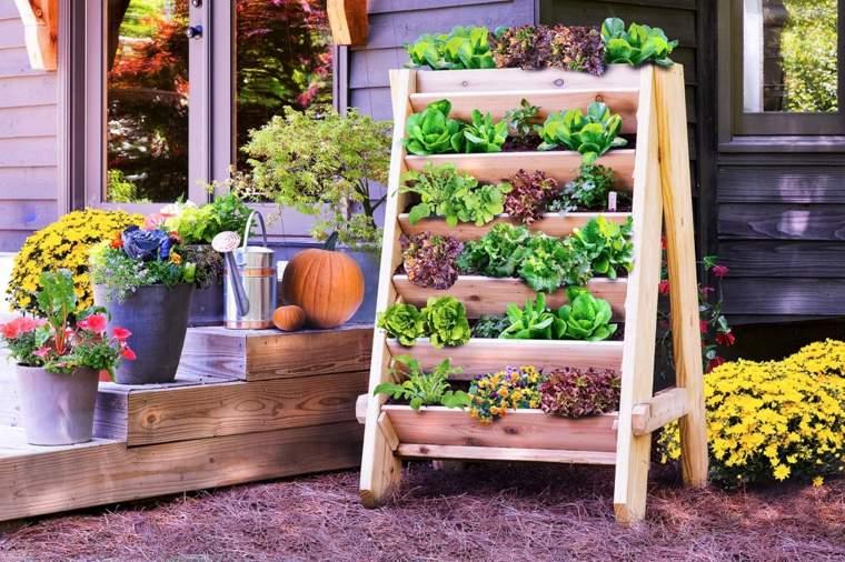 Jardineras verticales ideas sencillas para colgar plantas - Plantas para jardineras ...