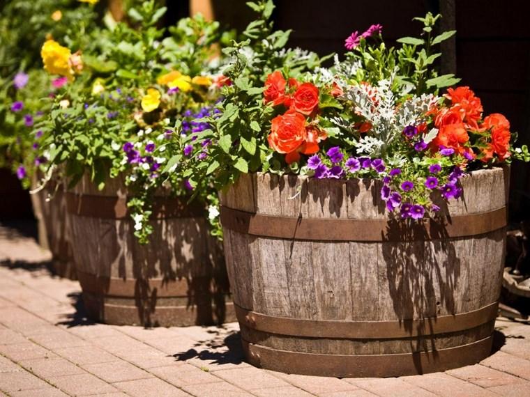 jardineria paisajismo flores primavera macetas originales ideas