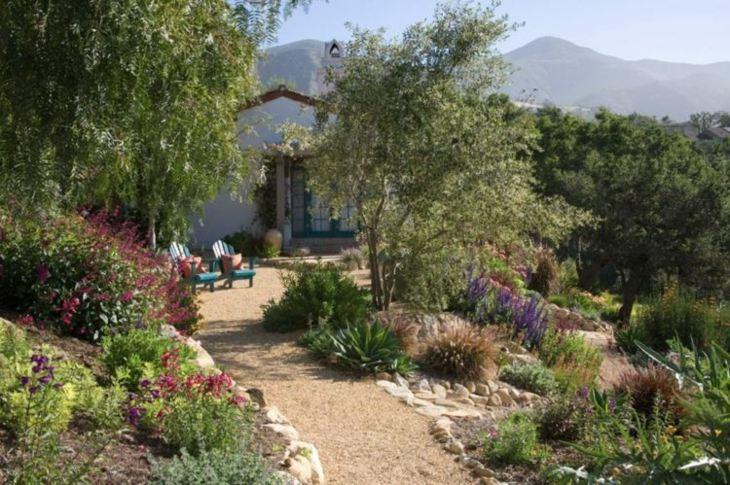 jardines diseño mediterraneo salidas ideas sendero