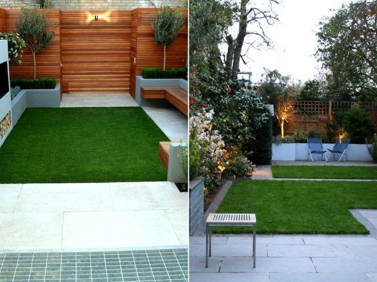 jardines patios diseño moderno