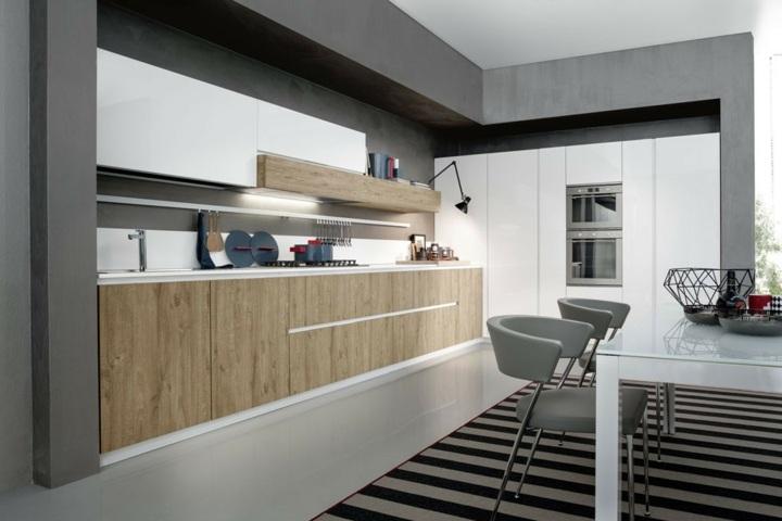 largas rayas salones muebles pendientes