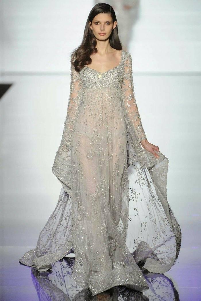vestido plata zuahirmurad