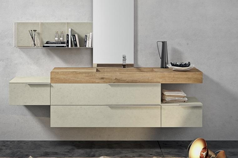 lavabos modernos madera opciones bano ideas