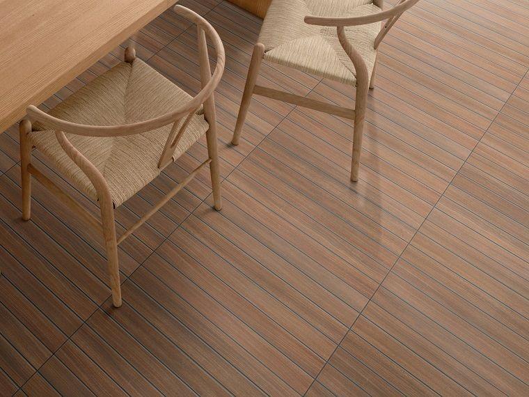 losas preciosas imitan madera suelo casa ideas