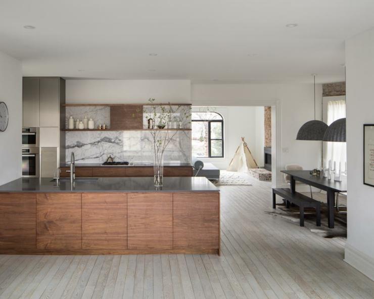 maderas detalles toques salones marmol