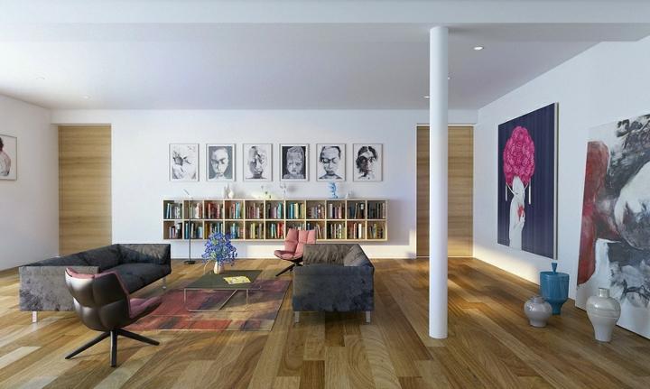 maderas salas cocinas puentes libreros