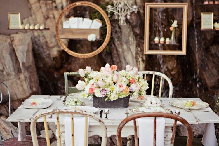 mesa bodas decoración vintage