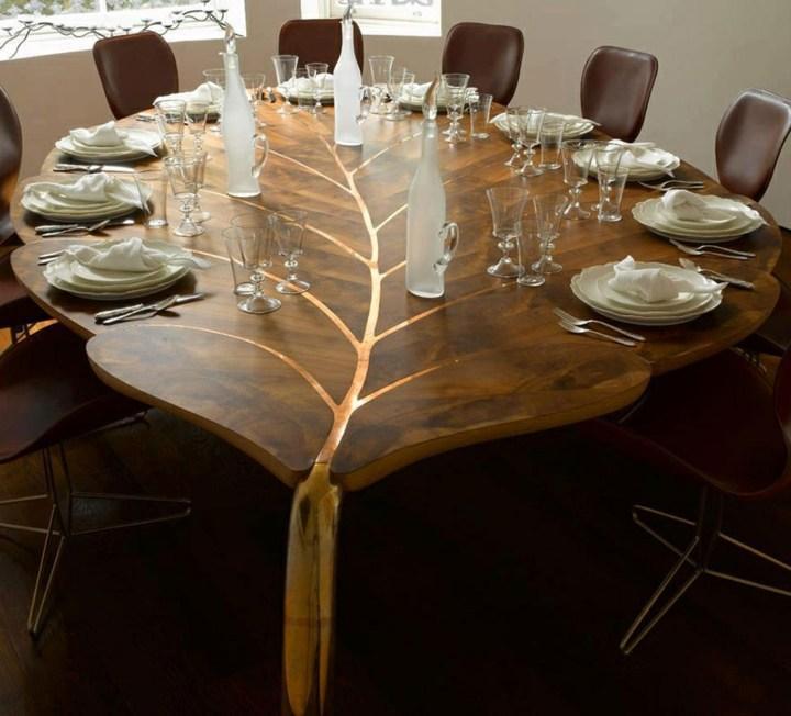 mesa decorativa sillones caballos estilos natural