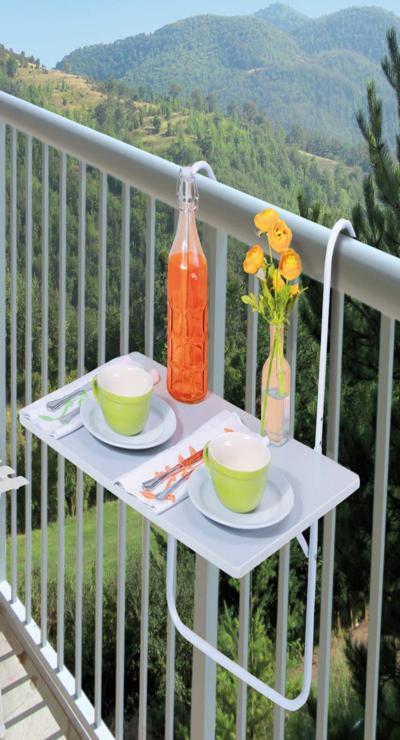 mesilla balcón funcional práctica