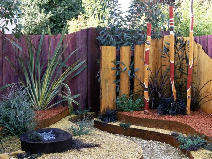 Decoracion de jardines rusticos con encanto natural for Cercados jardin