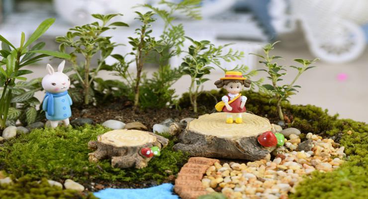 jardin miniatura deco musgos