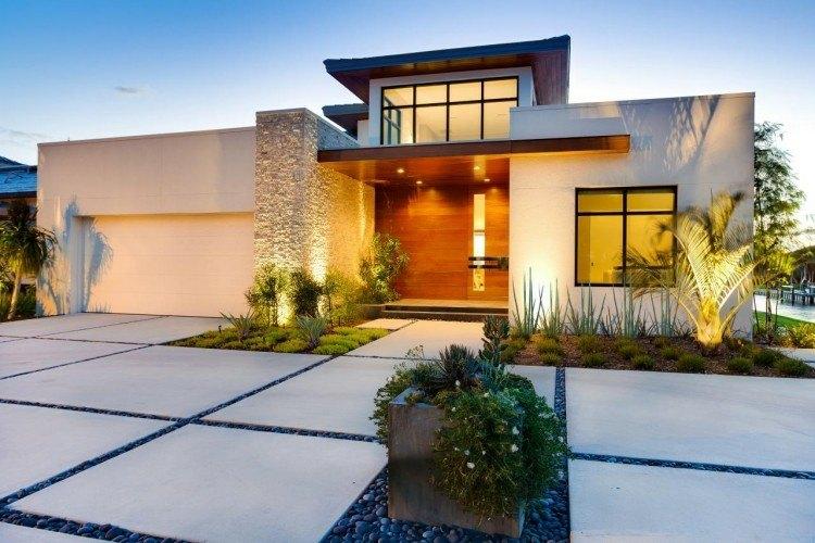 minimalismo jardin diseño paisaje