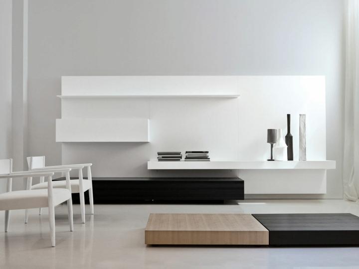 Salones decorados en blanco luminosos y elegantes for Arredo bagno minimal chic