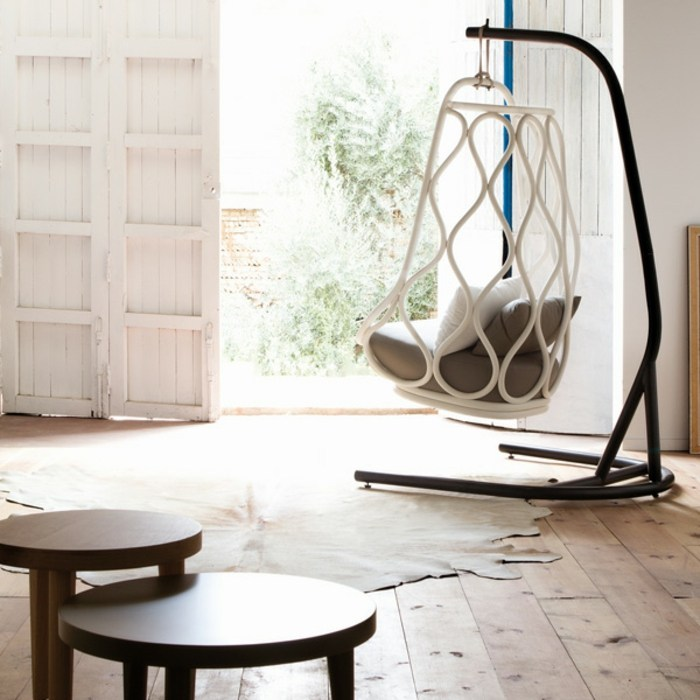 mobiliario creatividad rojos respaldos pieles madera
