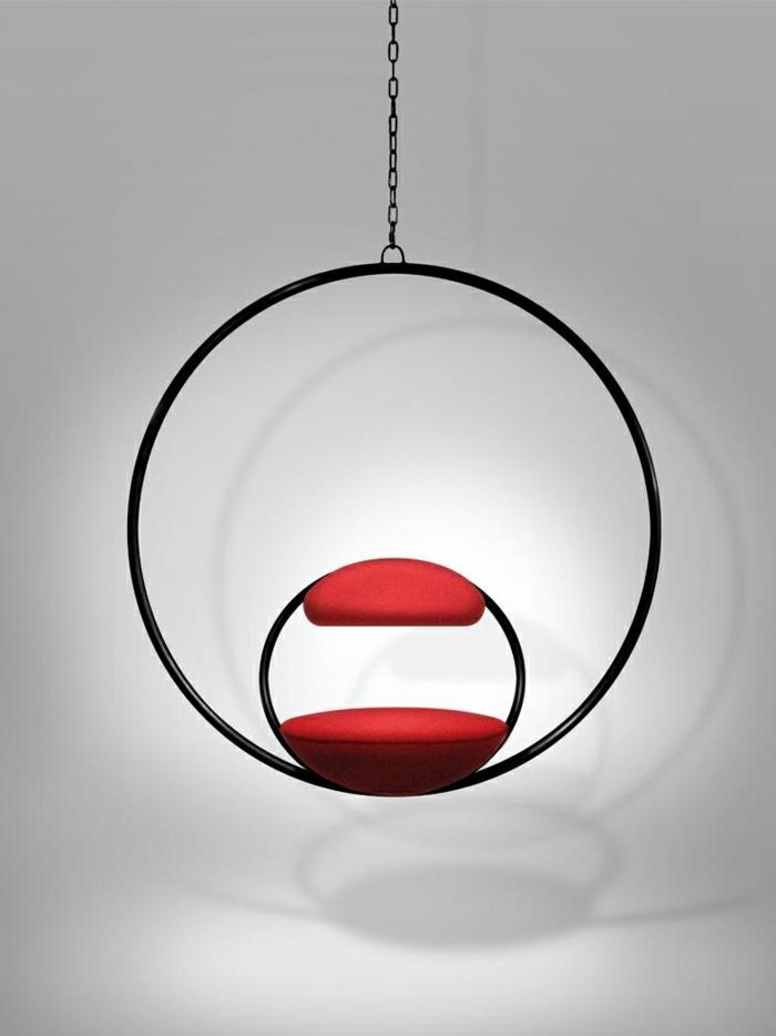 mobiliario creatividad rojos respaldos rojos