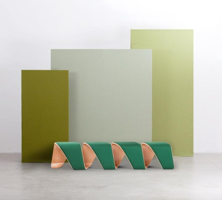 mobiliario creatividad salidas detalles contrastes colores
