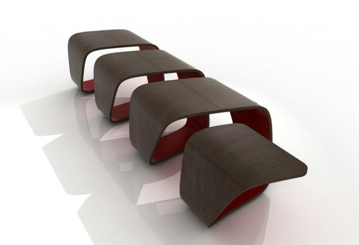 mobiliario creatividad salidas detalles tendencias rojo
