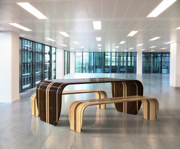 mobiliario creatividad salidas variaciones diseños lineas