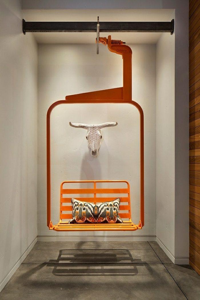 mobiliario creatividad salones estilos salidas naranjas