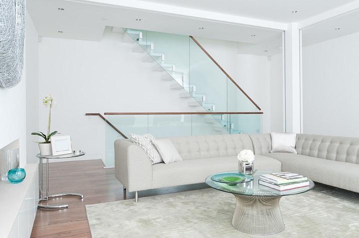 moderno blanco detalles salones estilos escaleras