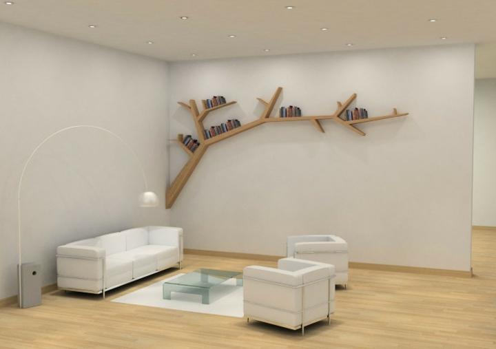moderno naturaleza estantes casas soluciones