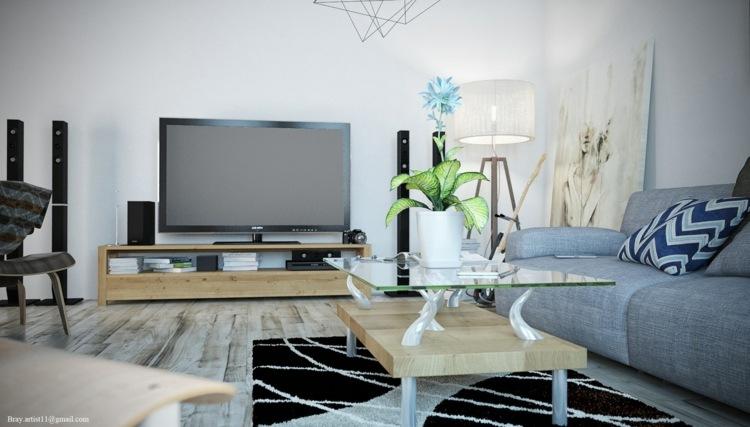muebles salon estilo moderno