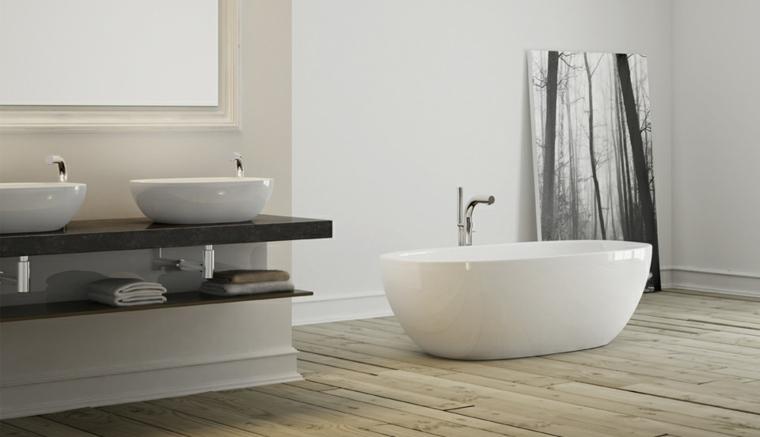 muebles de baño forma redonda