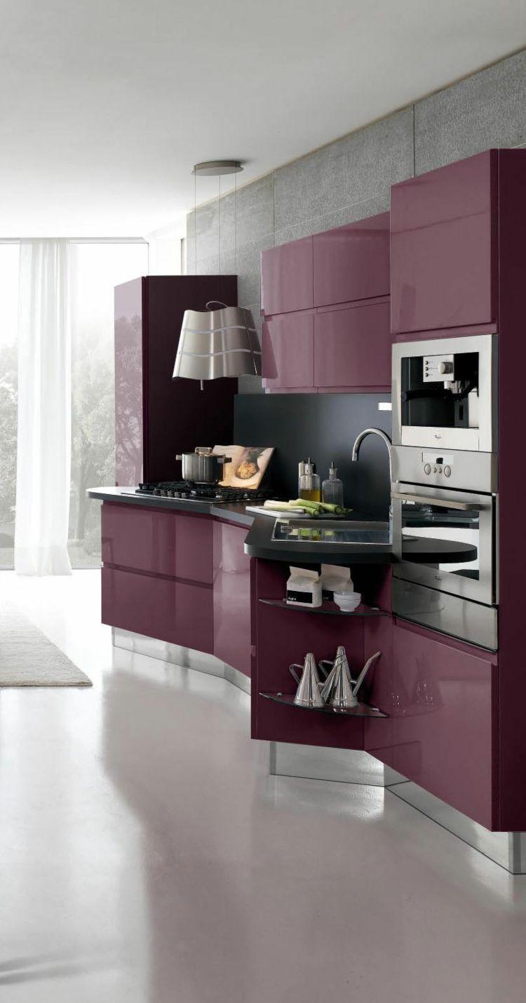 Dise os cocinas peque as modernas cincuenta modelos for Muebles de cocina pequena modernos