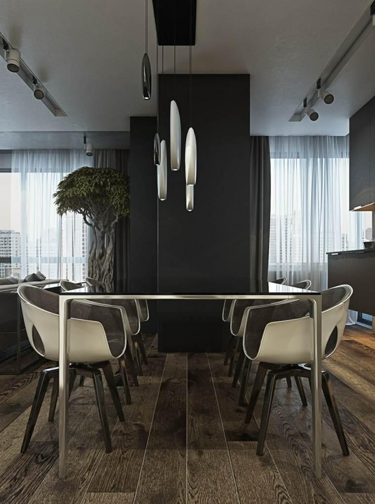 muebles de comedor disenos originales bonsai decorativo ideas