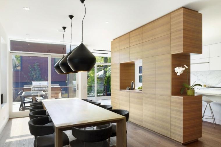 Muebles de comedor 50 dise os para que elija el mejor for Separacion de muebles cocina comedor