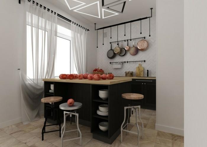 muebles decorados salones ideas metales